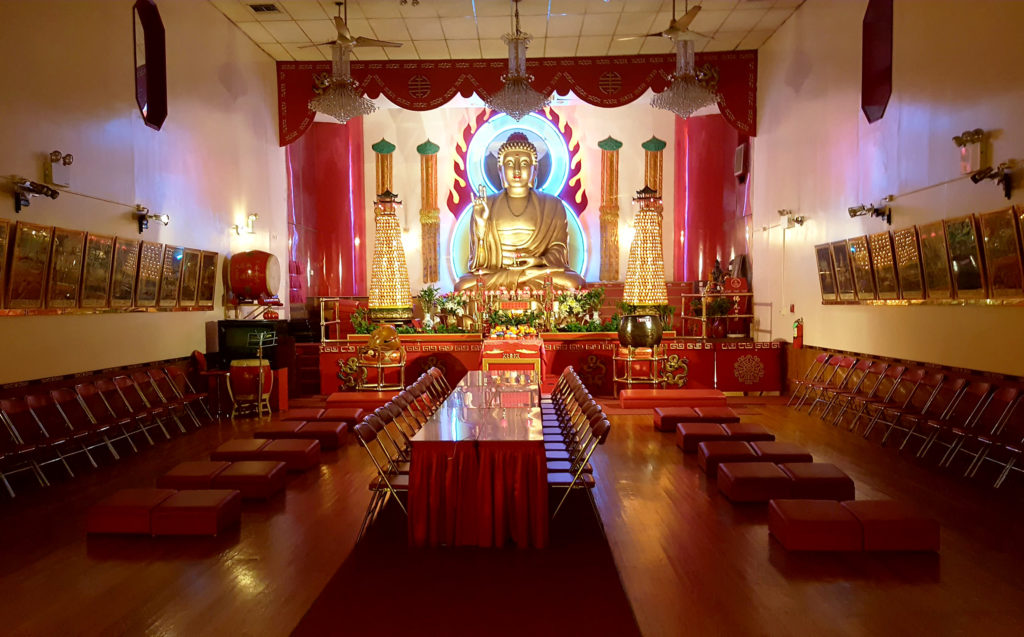 New York, China Town, Mahayana Temple