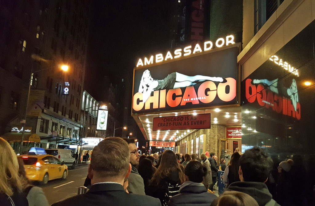 New York, Broadway Teatro Ambassador Chicago
