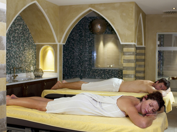 Quellenhof Resort, hamam in coppia