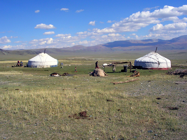 Mongolia, gher