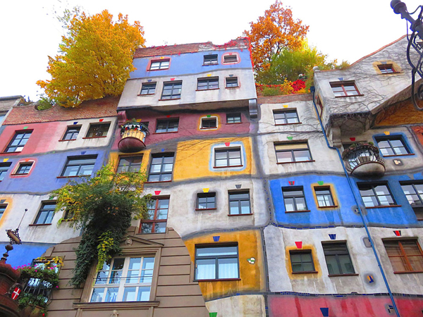 Case in Hundertwasserhaus