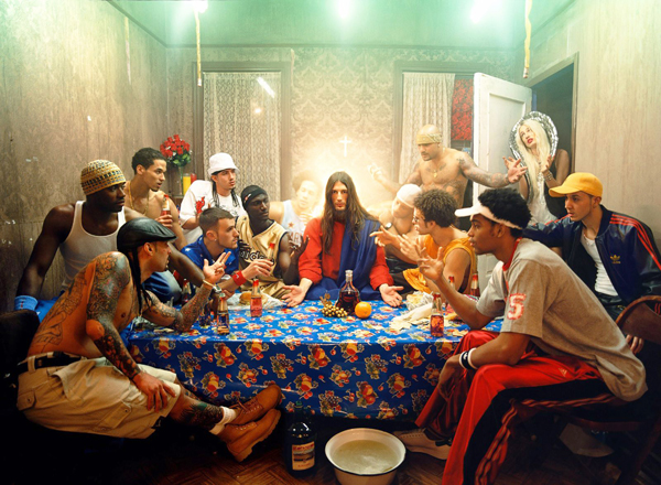 David LaChapelle, The Last Supper, 2003,