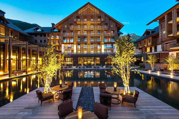 L'hotel The Chedi Andermatt (ph. Reto Guntli)