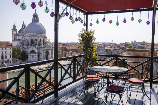 Hotel Bauer Palazzo Settimo Cielo Rooftop Restaurant